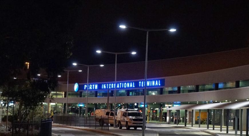 Aeropuerto de Perth (aeropuerto de Perth). Sayt.2 Oficial