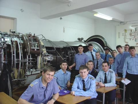 Irkutsk Aviation Technical College dell'aviazione civile 2