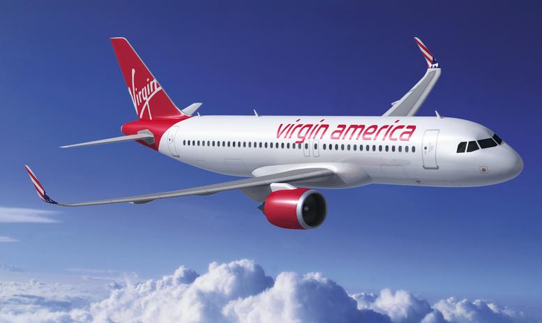 Virgin America (Virgin America). Sayt.1 Oficial