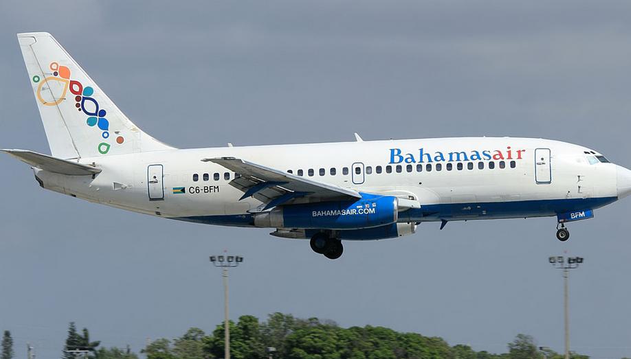 شركات الطيران Bagamaseyr (Bahamasair). مسؤول sayt.1