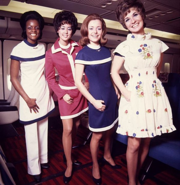 Flight attendants at different times. Form, photos, features, reviews.
