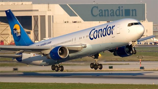 Airline Condor Airlines plane