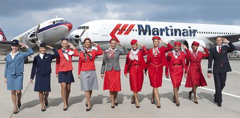 Description: Formulaire de bord compagnie aérienne Martinair. Haarlemmermeer, Pays-Bas. 3