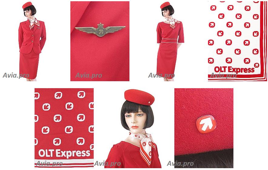 Descrizione: Modulo di hostess compagnie OLT Express. Danzica / Varsavia, in Polonia.