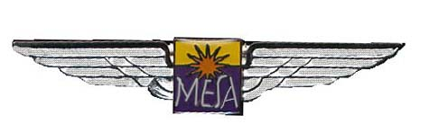 Description: Form Mesa Airlines flight attendants airline. Phoenix, USA. 1