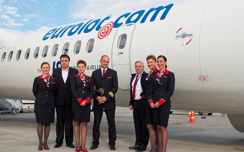 Formar Stewardessen Eurolot. Varsovia, Polonia. 2