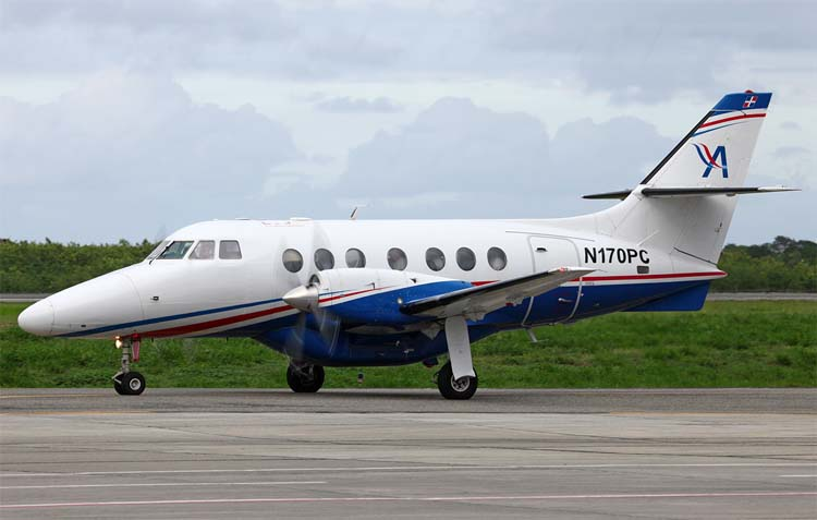 BAe Jetstream 31 / 32 plane