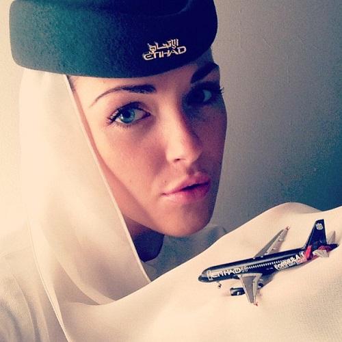 Stewardess Foto 3