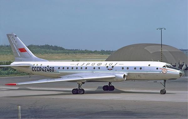 Tupolev Tu-104 Aeroflot
