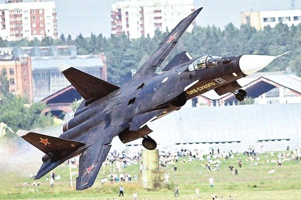 Berkut Su-47 foto