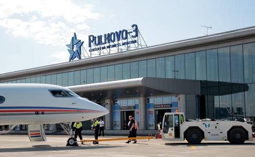 プルコヴォ空港3(サンクトペテルブルク)