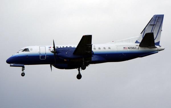 Saab 340 en vuelo