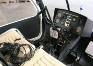 مروحية أمريكية Sportscopter Ultrasport 496 قمرة القيادة