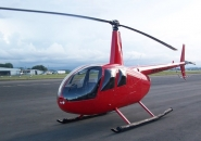 photo elicottero Robinson R44