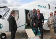 Mi-54 with passengers