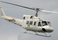 Bell 212 is landing