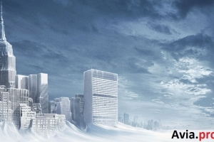 "I vettori aerei degli Stati Uniti film ""The Day After Tomorrow,"" per l'attuazione."