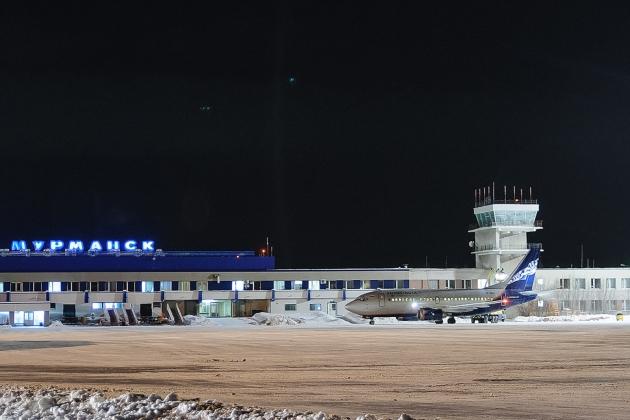 空港ムルマンスク