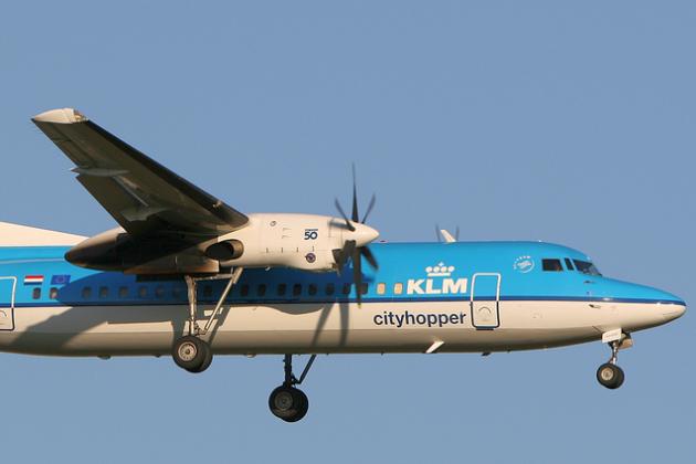 Compagnia aerea KLM sitihopper