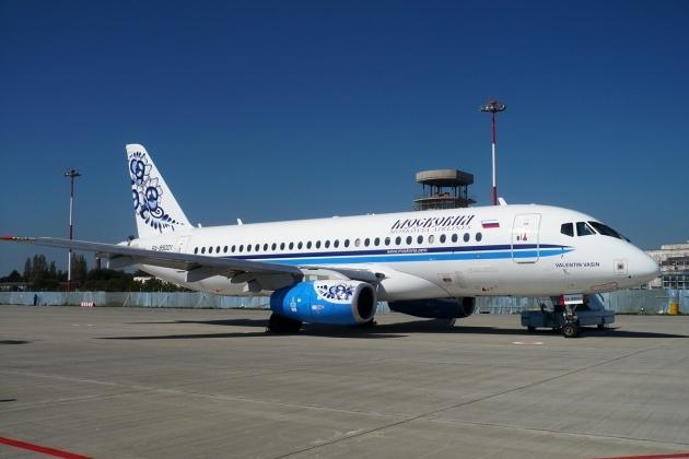 Sukhoi SuperJet 100 a société de leasing Royal Air Maroc