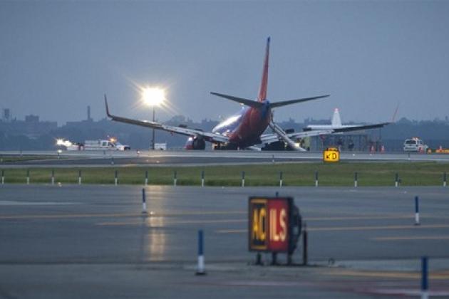 Аварийная посадка Boeing 737