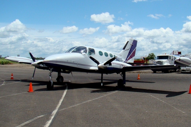 Cessna 401. Characteristics. Specification. Photo.