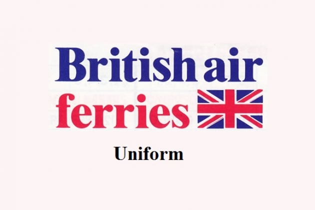 Uniformen der Flugbegleiter: British World Airlines. UK.