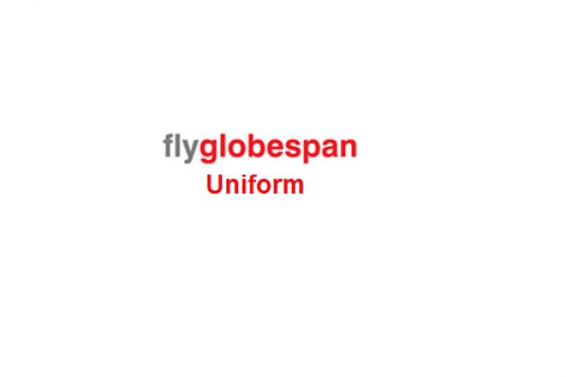 Uniformes de la azafata: Flyglobespan. Reino Unido.