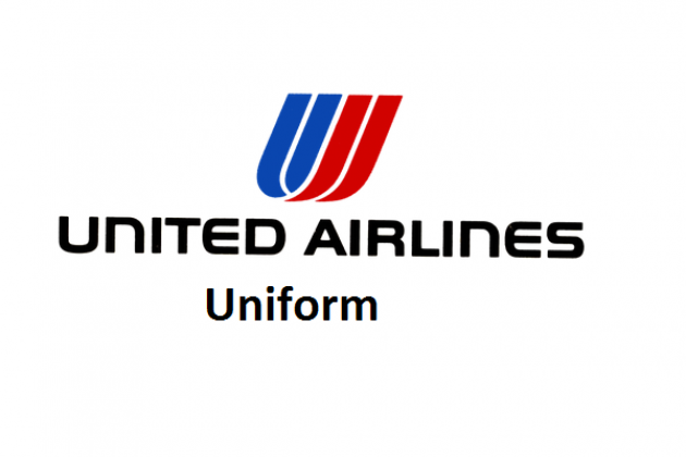 Uniforms stewardess: United Airlines. USA.