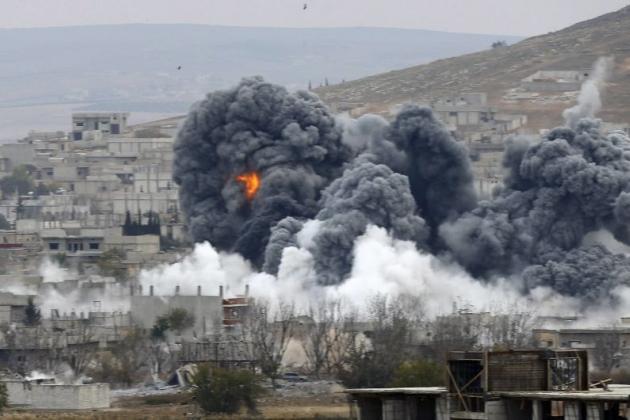 Bombardeo de Siria
