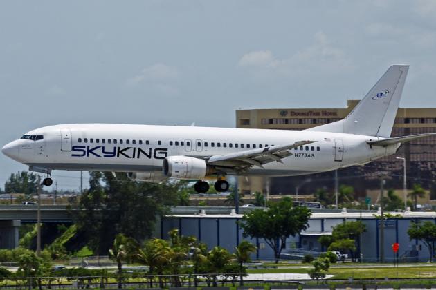 شركات الطيران الملك السماء