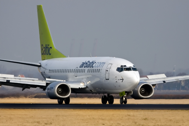 The airline AirBaltic