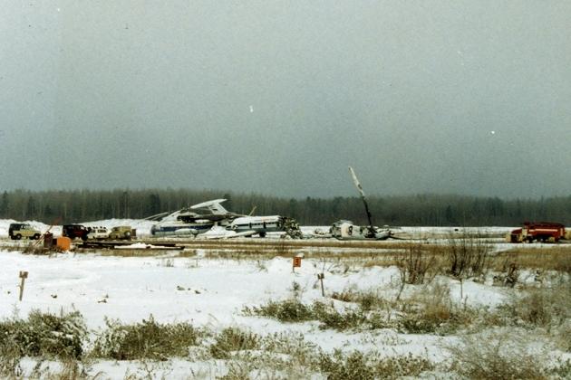 Авиакатастрофа Як-40 близ Ханты-Мансийска. 1986