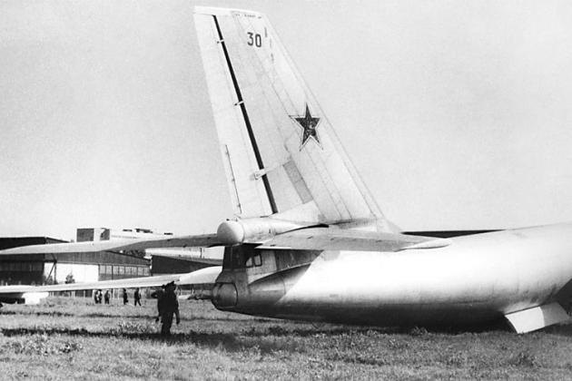 تحطم طائرة ياك 40 بالقرب Zhdanov. 1977