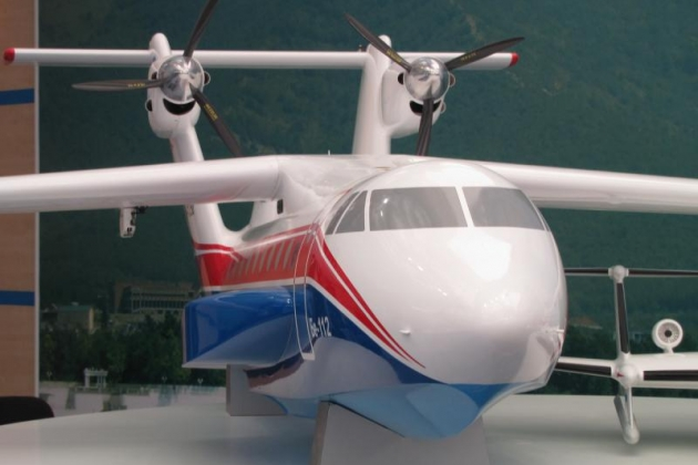Beriev Be-112. Specifiche tecniche. Foto.