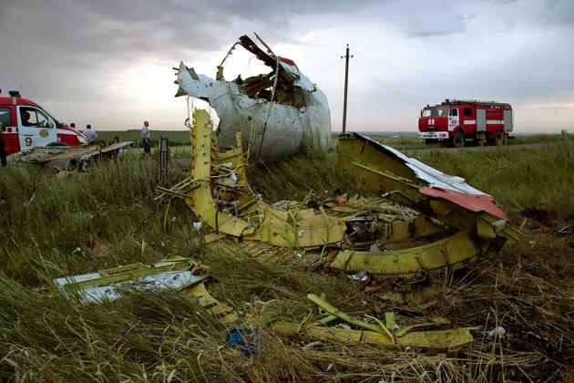Le crash d'un avion malaisien