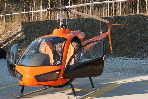 ヘリコプターKonner K1。 仕様。 写真。