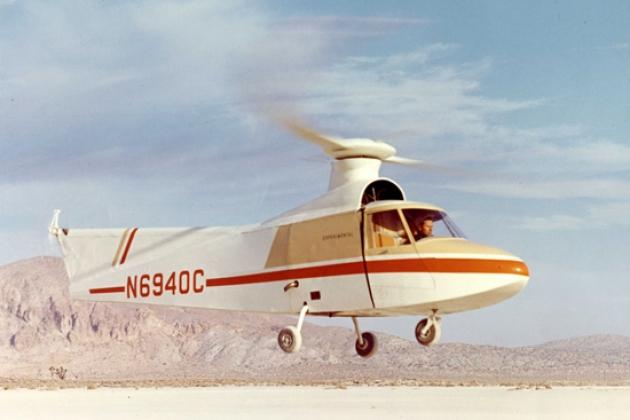 O helicóptero Lockheed CL-475. Especificações. Foto.