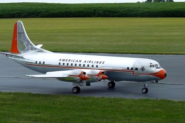 Lockheed L-188 Electra. Specifications. A photo