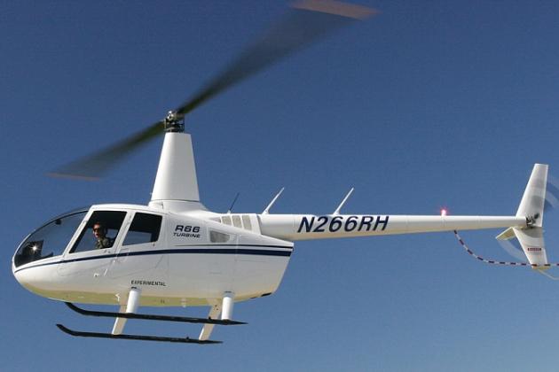 Hélicoptère Robinson R66