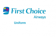 Uniformes de la azafata: First Choice Airways. Reino Unido.