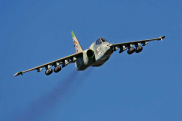 The aircraft Su-25