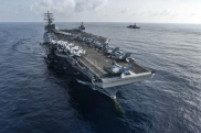 "Nuclear aircraft carrier ""Ronald Reagan"""