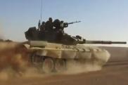 Танк в Сирии
