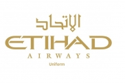 Uniformes de la azafata: Etihad Airways. United Arab Emirates.