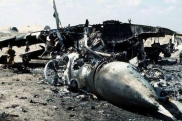 Aircraft destroyed