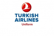Stewardess Uniformen: Turkish Airlines. Türkei.