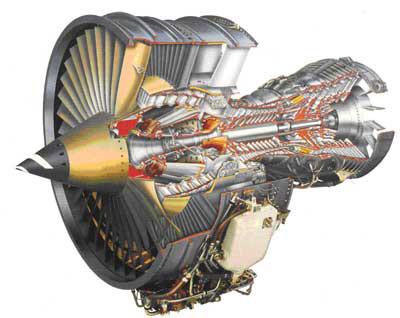 Газотурбинный двигатель.