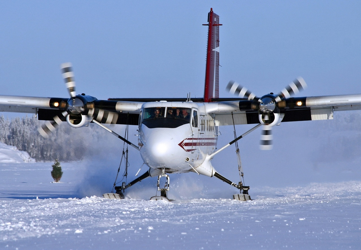 DHC-6 Twin Otter snow