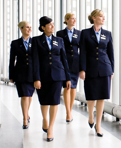 Uniforms stewardess: Bmi. United Kingdom. 5